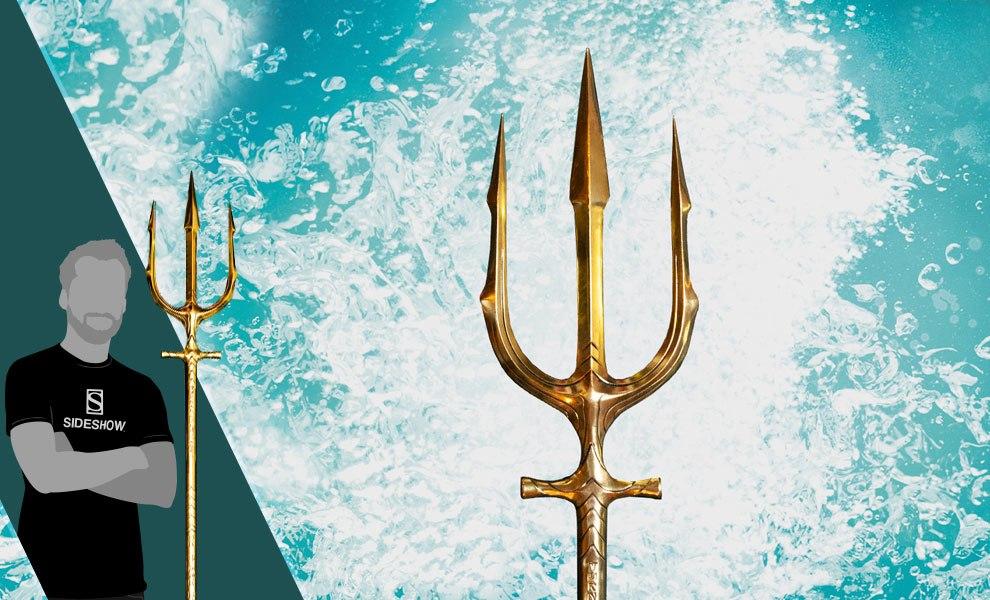 Dc Comics Aquaman Hero Trident Prop Replica By Factory