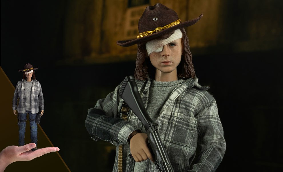 Carl Grimes Sixth Scale Figure