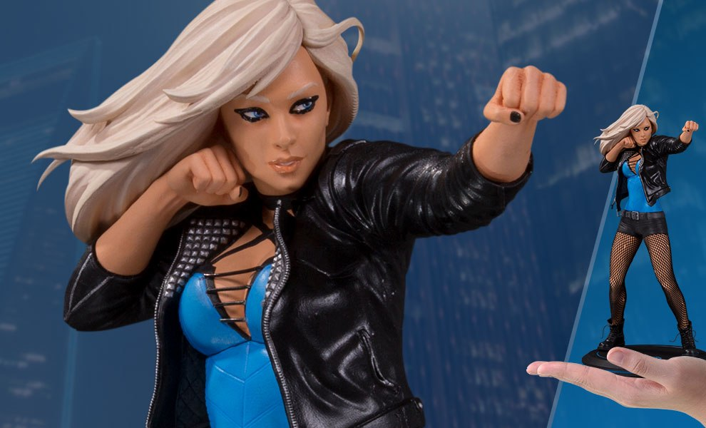 Black Canary Statue