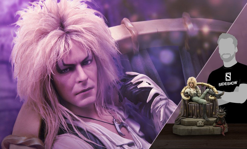 Jareth on the Throne Statue