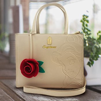 Disney Belle Embossed Tote Bag Apparel
