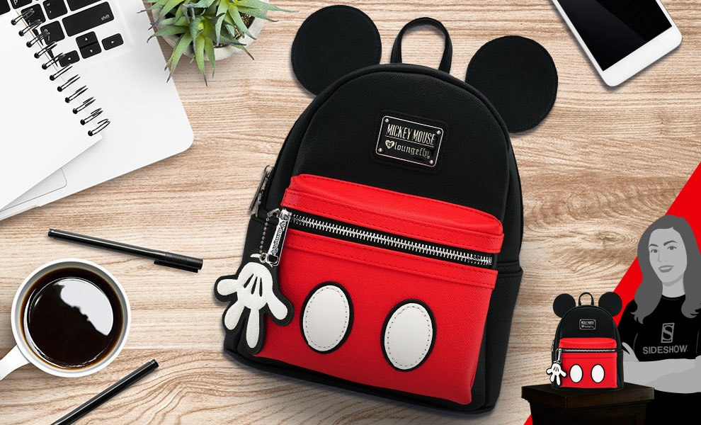 4ff3a95186c Disney Mickey Suit Mini Backpack Apparel by Loungefly