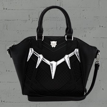 Black Panther Cosplay Crossbody Bag Apparel