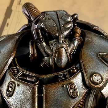 X-01 Power Armor Collectible Figure