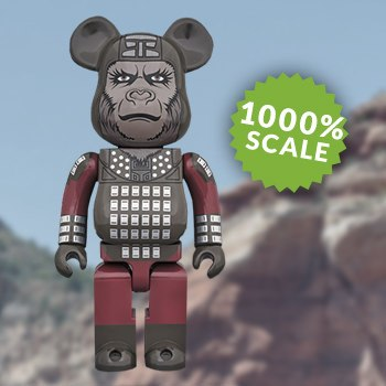 Bearbrick General Ursus 1000 Figure
