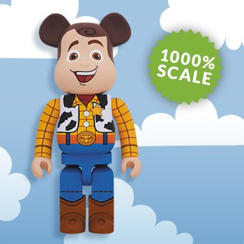 Bearbrick Woody 1000 Figure
