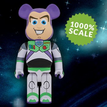 Bearbrick Buzz Lightyear 1000 Figure