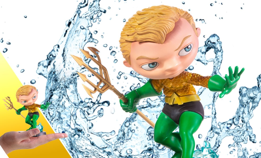 Aquaman Mini Co Collectible Figure