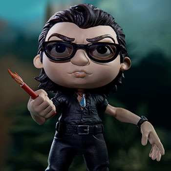Ian Malcolm Mini Co Collectible Figure