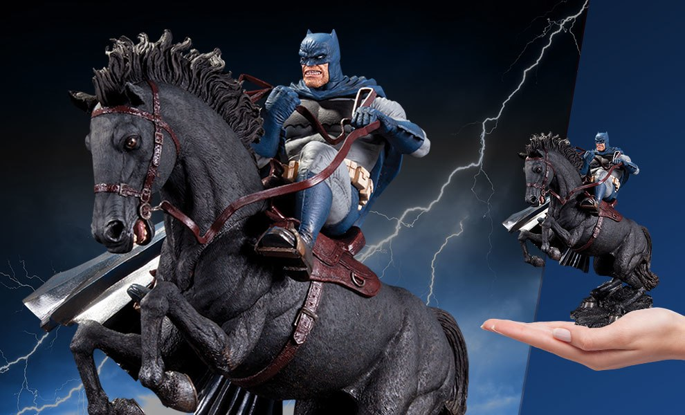 The Dark Knight Returns Call to Arms Statue