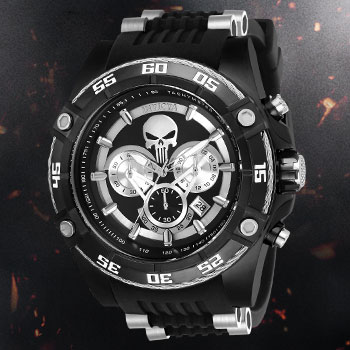 The Punisher Watch - Model 26859 Jewelry