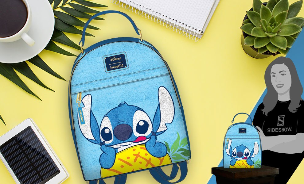 Stitch Pineapple Mini Backpack Apparel