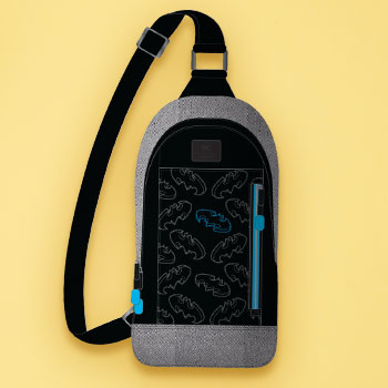 Batman Sling Backpack Apparel