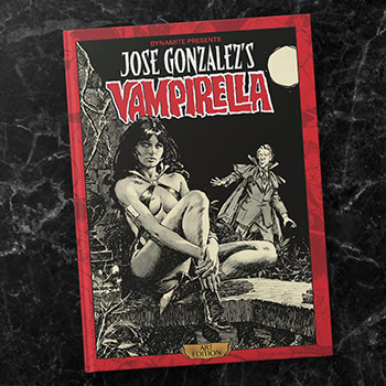 Jose Gonzalez Vampirella Art Edition Book
