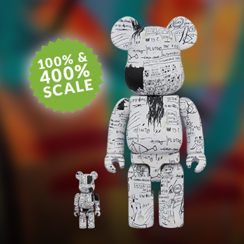 Be@rbrick Jean-Michel Basquiat #3 100% and 400% Collectible Set
