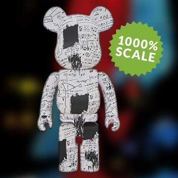 Be@rbrick Jean-Michel Basquiat #3 1000% Figure