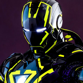 Neon Tech Iron Man 2.0 Sixth Scale Figure Sixth Scale Figure