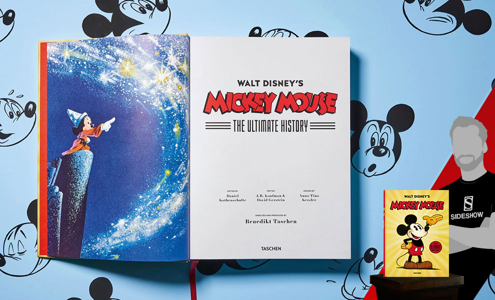 f84f3ac62 TASCHEN's Walt Disney's Mickey Mouse: The Ultimate History Hardcover |  Sideshow Collectibles