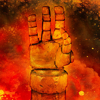 Hellboy Right Hand of Doom Prop Replica
