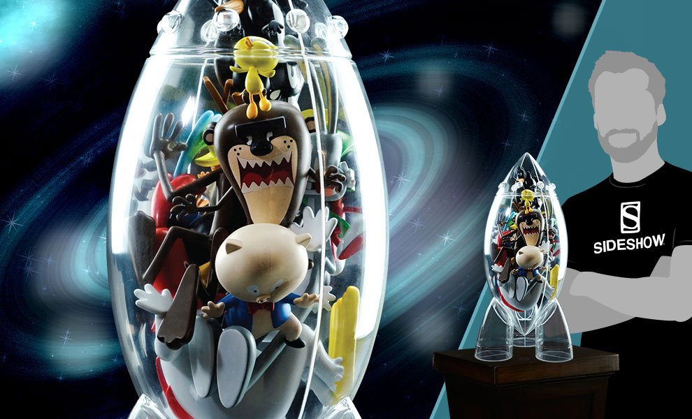 Get Animated: Looney Tunes Rocket Resin Collectible
