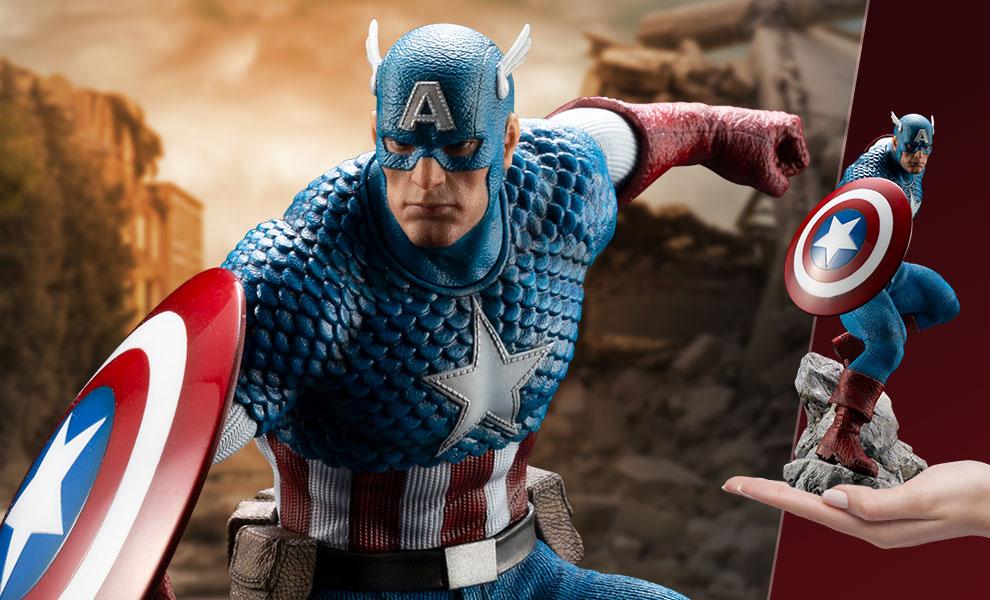 Kotobukiya Marvel Captain America ArtFX Premier Statue Standard