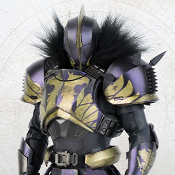 Titan (Golden Trace Shader) Sixth Scale Figure