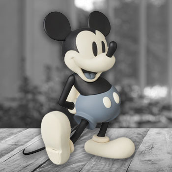 Mickey Mouse (Standard B & W Version) Vinyl Collectible
