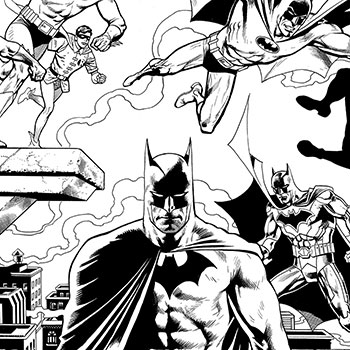 Detective Comics #1000 Pure Line Art Edition Book