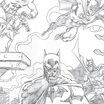 Detective Comics #1000 Pure Pencil Sketch Edition Book