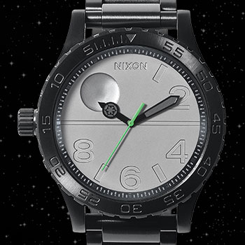 Death Star Black 51 30SW Watch Jewelry