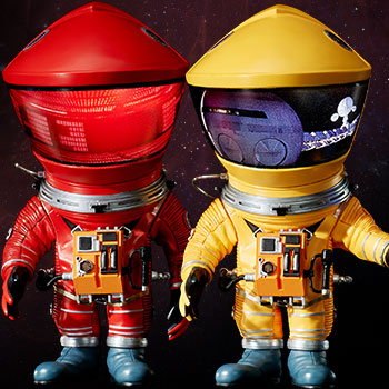 Discovery Astronaut (Red & Yellow Twin Pack) Vinyl Collectible