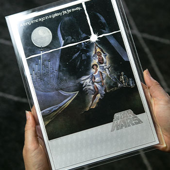 Star Wars: A New Hope Silver Foil Silver Collectible