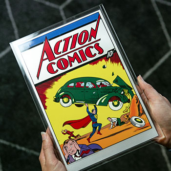 Action Comics #1 Silver Foil Silver Collectible