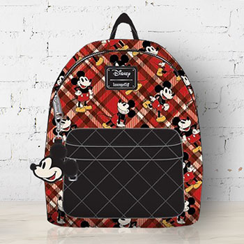 Mickey Mouse Quilted Mini Backpack Apparel