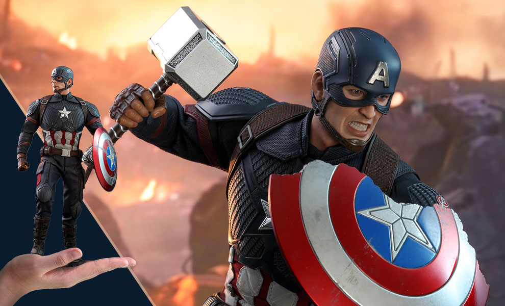 Captain America Sixth Scale Figure