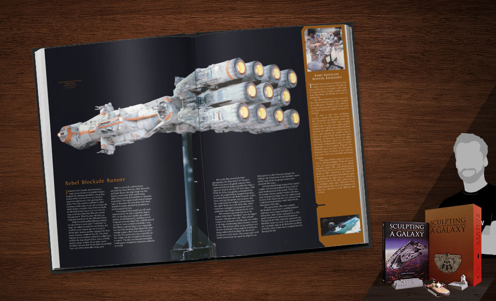 Sculpting a Galaxy: Inside the Star Wars Model Shop Limited Edition Book