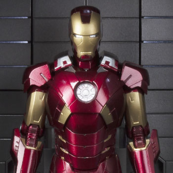Iron Man Mark VII and Hall of Armor Collectible Set