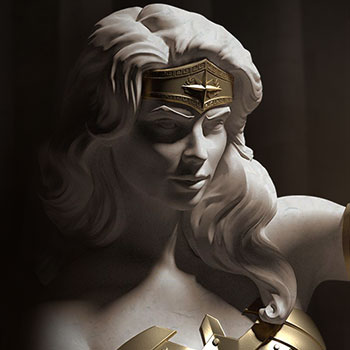 Wonder Woman Princess of Themyscira Statue