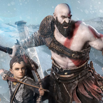 God Of War God Of War Ps4 Statue By Sony Interactive Enterta