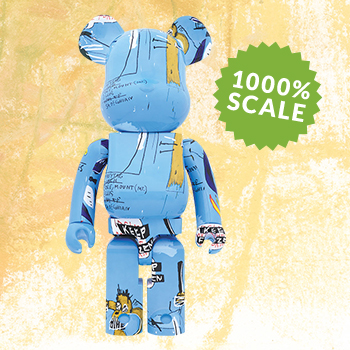 Be@rbrick Jean-Michel Basquiat #4 1000% Figure