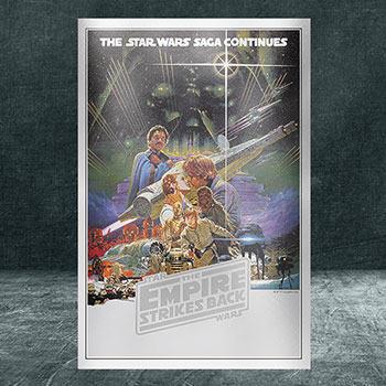 Star Wars: The Empire Strikes Back Silver Foil Silver Collectible