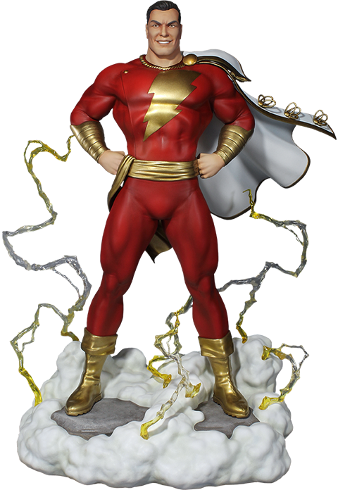 Super Powers ShazamMaquette