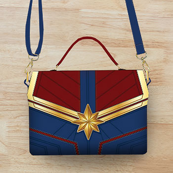 Captain Marvel Crossbody Bag Apparel