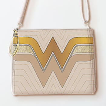 Wonder Woman (Gold) Crossbody Bag Apparel