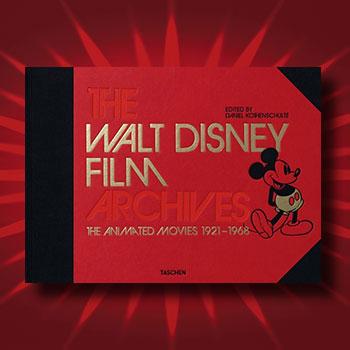 The Walt Disney Film Archives: The Animated Movies 1921-1968 Book