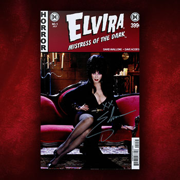 Elvira: Mistress of the Dark Issue #1 Book