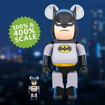 Be@rbrick Batman Animated 100% and 400% Collectible Set