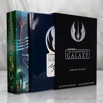 Star Wars: The Ultimate Pop-Up Galaxy (Limited Edition) Book