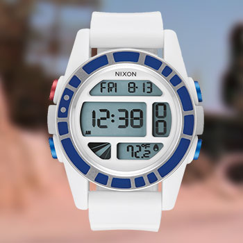 R2-D2 White Watch Jewelry
