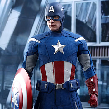Captain America (2012 Version) Sixth Scale Figure
